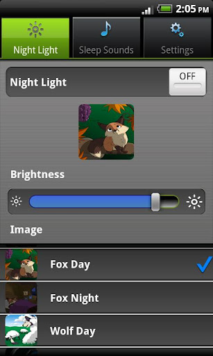 夜间照明 + 助眠音效 + 摇篮曲睡眠