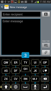 Moving Key Keyboard - screenshot