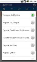 Screenshot of Exterior NEXO Móvil