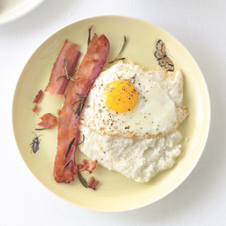 Creamy Grits with Rosemary Bacon