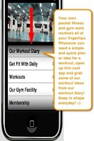 Screenshot of Pocket Fitness and Gym Work!