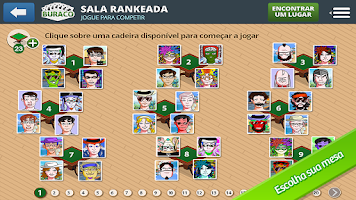 Screenshot of Truco Mineiro Online