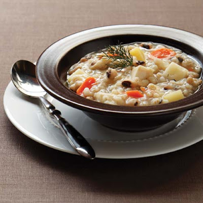 Slow Cooker Chicken Barley Stew