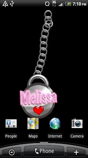 Melissa Live Wallpaper