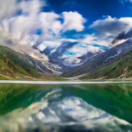 by Umair Khan - Landscapes Mountains & Hills