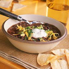 Instant Black Bean Soup