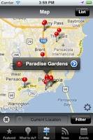 Screenshot of Pensacola FL