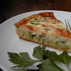 Etta's Asparagus and Leek Tart
