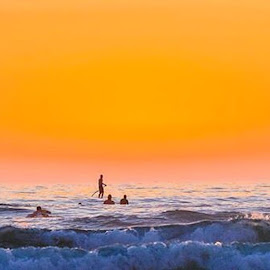 by Roman Gomez - Instagram & Mobile Instagram ( romanphotography, sunset, surfing )
