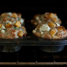 Pumpkin and Feta Muffins