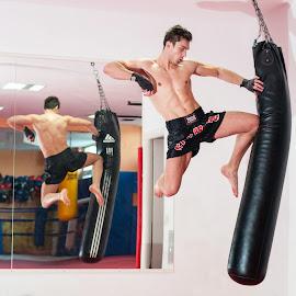 Rise of Denial by René Švigir - Sports & Fitness Other Sports ( training, sport, muy-thai, gym, man )