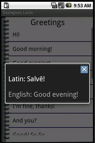 Latin Dialogues