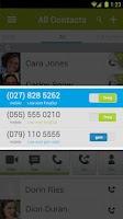 Screenshot of fring Free Calls, Video & Text