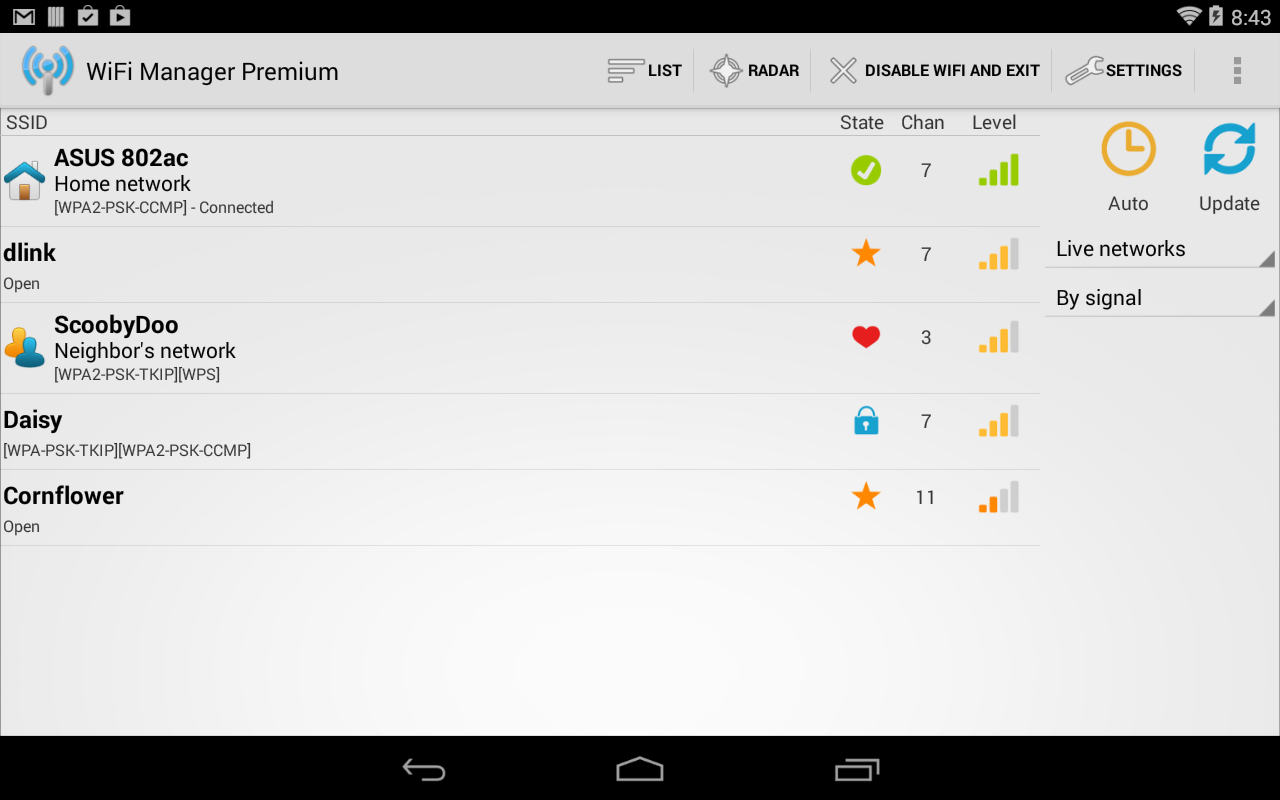 WiFi Manager Screenshot 11