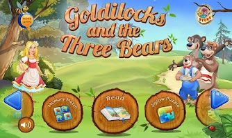 Screenshot of Goldilocks & Three Bears Book