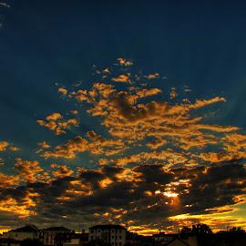 by Luna Sol - Landscapes Cloud Formations