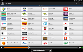 Screenshot of FM België