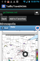 Screenshot of Minnesota Traffic Cameras