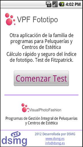 Test Fototipo