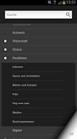 Screenshot of NZZ.ch
