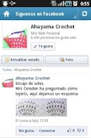 Screenshot of Crochet Paso a Paso
