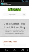 Screenshot of Ghost Radar®: STORIES