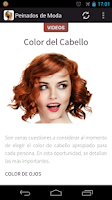 Screenshot of Peinados de Moda para Mujeres