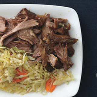 Slow-Roasted Pork with Cabbage, Carrots and Caraway