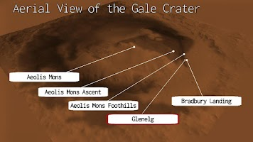 Screenshot of Curiosity Clock