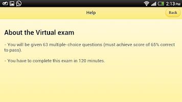 Screenshot of Advance SAS Practice Exam Lite