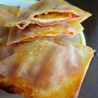 Crispy Pizza Wraps