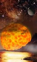 Screenshot of Galaxy Space Live  Wallpaper