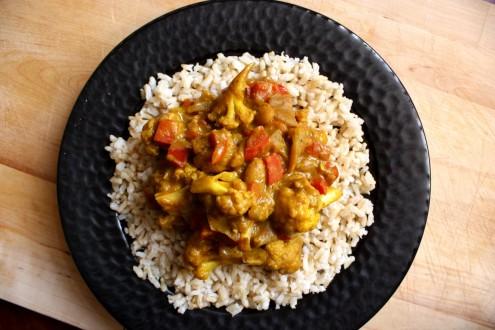 African Veg Curry