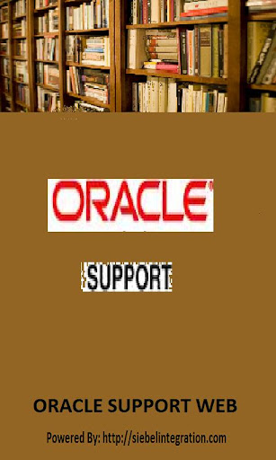 Oracle Support Web