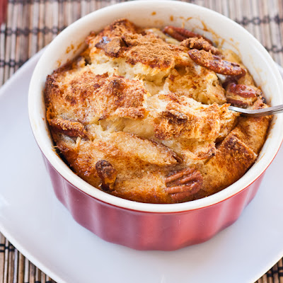 Bread Pudding with Raisin Bread