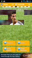 Screenshot of Soccer Players Quiz PRO 2014