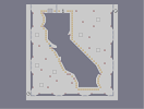 Thumbnail of the map '07-0: california uber alles'