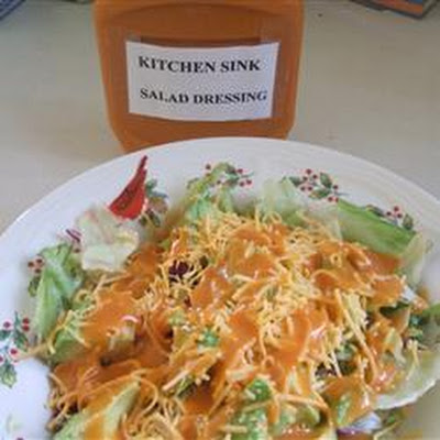 Kitchen Sink Salad Dressing