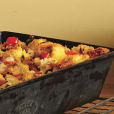 Double-Pepper Cornbread Stuffing