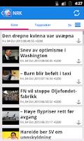 Screenshot of Norge Nyheter