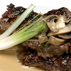 Sirloin Steak with Mushroom Marsala Sauce