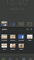 Screenshot of Luxury GO Launcher Theme