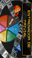 Screenshot of Entrenador de Trivial