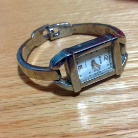 Square Time Piece by Terry Linton - Artistic Objects Jewelry (  )
