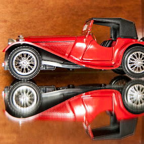 Jaguar Roadster 1939 by Petrica Manzala - Artistic Objects Toys ( , toy, object )