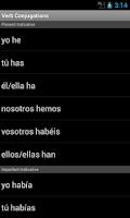 Screenshot of Unabridged Spanish Dictionary