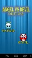 Screenshot of Smiley - Angel vs. Devil