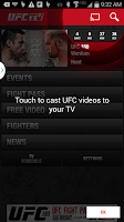 Screenshot of UFC.TV & UFC FIGHT PASS