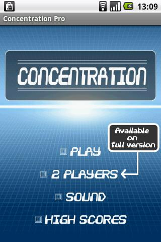 Memory Game - Concentration -