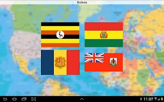 Screenshot of Flag Quiz